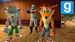 Garry's Mod: EL MUSEO DE CRASH BANDICOOT & ELILOBOS TRONCO! (Gmod Prop Hunt - Funny Moments) Lechu