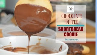Chocolate Dipped Shortbread Cookie (EP # 74)