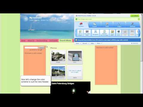 Parallels Web Presence Builder: Getting Started Video Tutorial