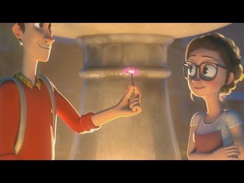 Ed Sheeran - Happier [Animated Romantic Video] [Fanmade]
