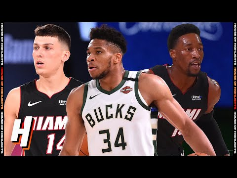 Miami Heat vs Milwaukee Bucks – Full Game Highlights | August 6, 2020 | 2019-20 NBA Season