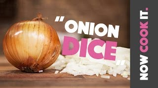 How To Chop An Onion Like A Boss | Now Cook It