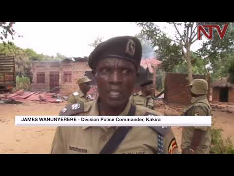 Police deploy after residents torch man's house in Iganga