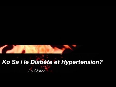 Lhypertension peut fonctionner à 2 degrés
