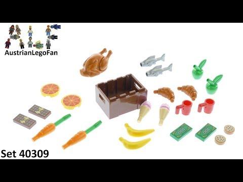 Vidéo LEGO Objets divers 40309 : LEGO Xtra - Accessoires sur le thème de la nourriture
