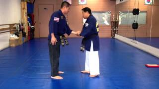 Hapkido One Hand Wrist Grab Defense 21