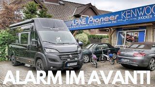 Vodafone Automotive COBRA Alarmanlage im Wohnmobil