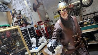 Adam Savages New Medieval Armor Costume!