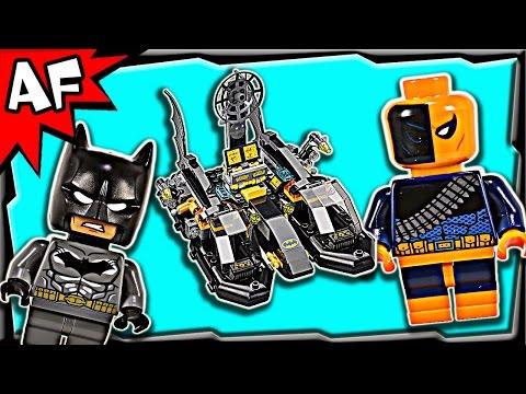 Vidéo LEGO DC Comics Super Heroes 76034 : Poursuite en BatBoat dans le port