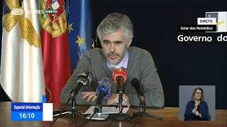 07/05: Ponto de Situação da Autoridade de Saúde Regional sobre o Coronavírus nos Açores