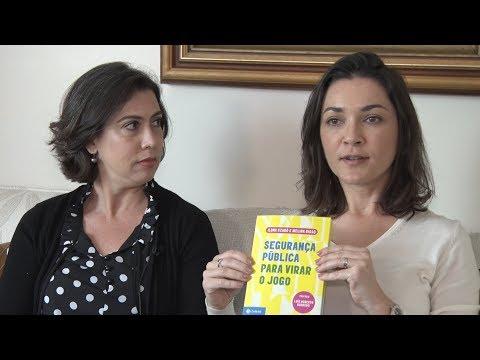 """Ilona Szabó e Melina Risso lançam o livro """"Segurança pública para virar o jogo"""""""