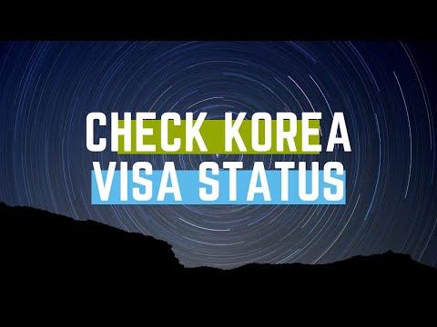 south korea visa status check   track korea visa online