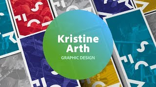 Live Graphic Design, Branding & Identity With Kristine Arth - 1 Of 3