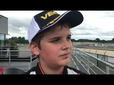 Jonny Edgar (Exprit / TM Racing) CIK-FIA European Champs OKJ, Le Mans
