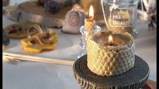 Изготовление свечей из пчелиного воска