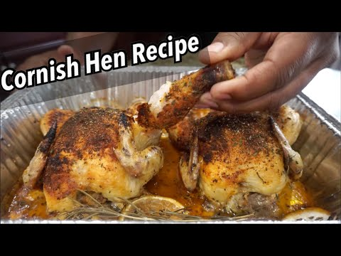 Tasty Cornish Hen Recipe | Oven Roasted Cornish Hen | Southern Smoke Boss