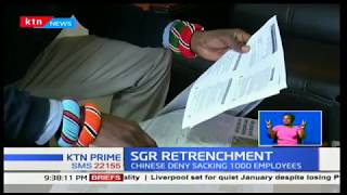 SGR Retrenchment:Company refute claims that they have sacked workers