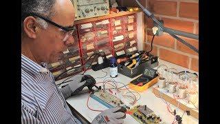 Conserto de Placa Eletrônica da Lavadora Electrolux LTE12 - Parte 01