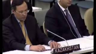 Казахстан против России на Генассамблее ООН по Украине 27 03 2014