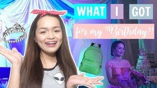 WHAT I GOT FOR MY 18TH BIRTHDAY?! (Philippines) | Monica Garcia ♡
