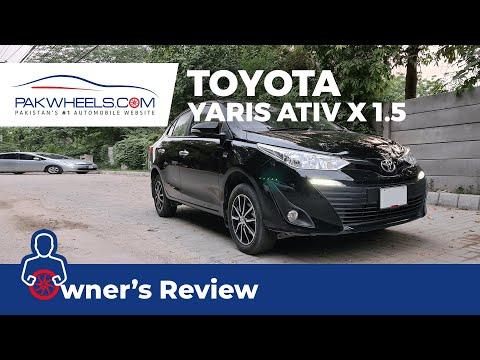 Toyota Yaris ATIV X CVT 1.5 | Owner's Review | PakWheels