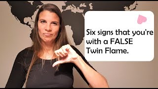 This is how you recognize a false Twin Flame.