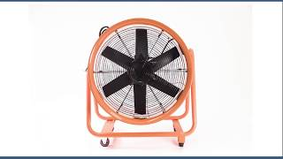 Air Blower Fan - Metal - 4 HP Ventilator
