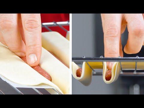 Dough + Oven Rack + Pepperoni Sticks | 5 Creative Pizza Snacks