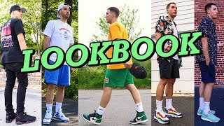 SUMMER LOOKBOOK - HOW TO STYLE SNEAKERS IN THE SUMMER - NIKE - JORDANS - NEW BALANCE