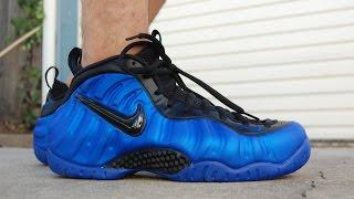 newest be05c 26c0e Nike Air Foamposite Pro Hyper Cobalt Ben Gordon On Feet