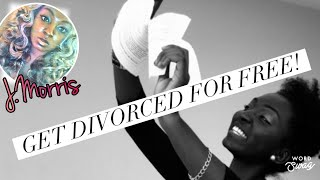 How to File for Divorce for FREE! You can DIY!