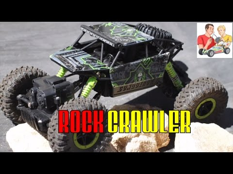 1/18 2.4G 4WD Rock Crawler RC Car Unboxing and Review
