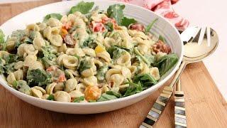 BLT Pasta Salad with Avocado Ranch Dressing   Episode 1041