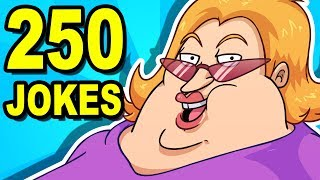 250 YO MAMA JOKES - Can You Watch Them All