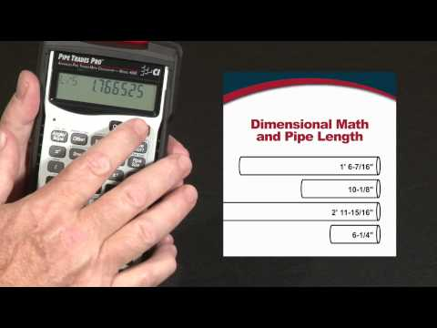 Pipe Trades Pro - Dimensional Math and Conversions