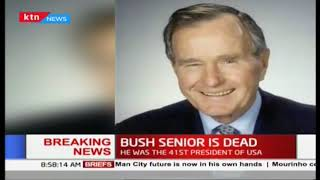 BREAKING NEWS: George HW Bush dies at 94