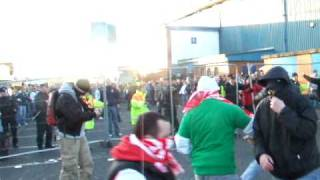 Irlandia Północna - Polska 28.03.2009 Belfast Northern Ireland - Poland riot