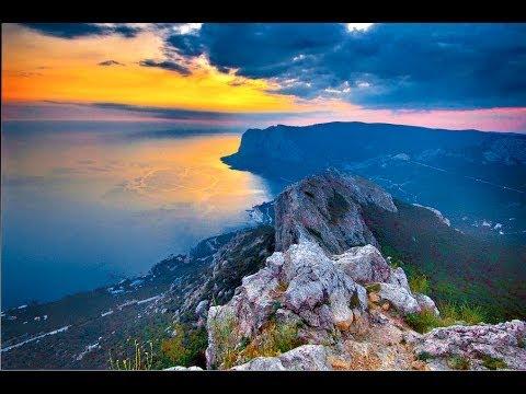 Гора Ильяс-Кая над бухтой Ласпи и мысом