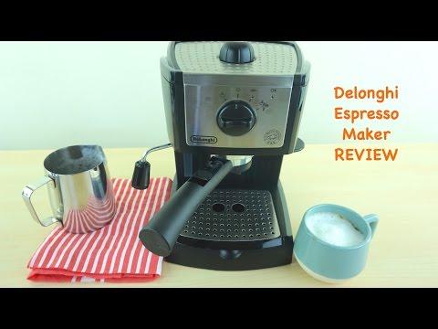 , De'Longhi EC155 15 BAR Pump Espresso and Cappuccino Maker