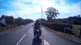 Ride with m8's through the Fens