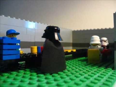 Darth Vader v jídelně