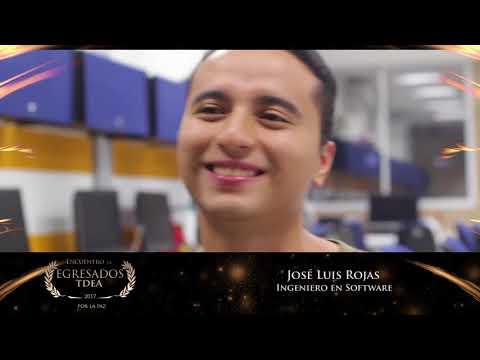 Reconocimiento Egresados TdeA: José Luis Rojas Córdoba