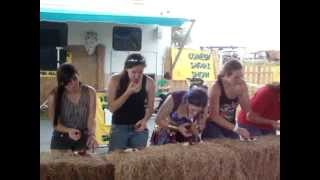 Poteet Festival Strawberry Eating Contest 4/15/2012