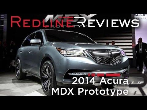 2014 Acura MDX Prototype - 2013 Detroit Auto Show