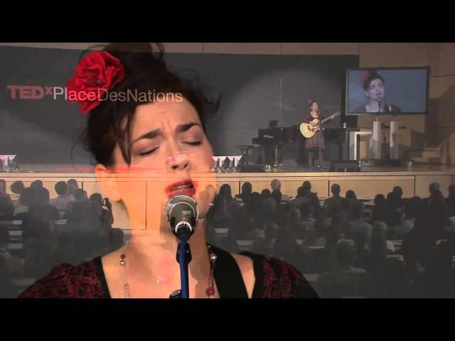 Albanian folk songs | Elina Duni | TEDxPlaceDesNations