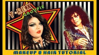 Playing Dress Up || 🌟PRECIOUS STAR🌟The Bolan Groupie💋 Hair & Makeup Tutorial