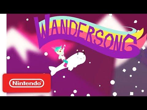 Wandersong Announcement Trailer - Nintendo Switch