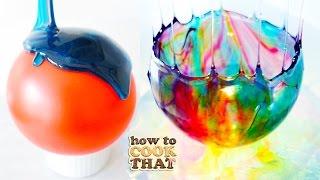 How to Make Pretty Balloon SUGAR Bowls