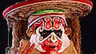 Ashtakalasam of Hanuman in Lavanasuravadham Kathakali