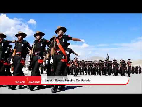 Passing out parade; 207 young recruits of Ladakh Scouts takes oath